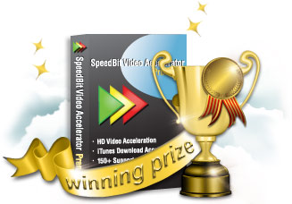 Speedbit Olympics Prize - Video Accelerator Premium