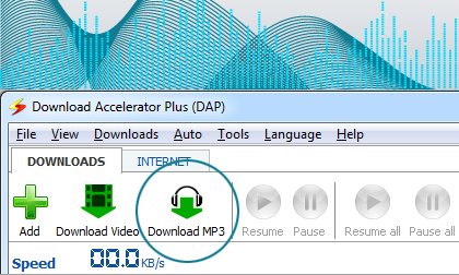 DAP Video to MP3 Feature