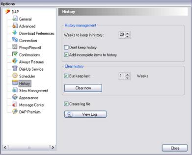 how to create log file