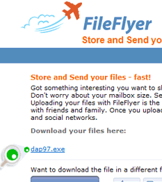 Screenshot of DAP Link Checker in FileFlyer.com